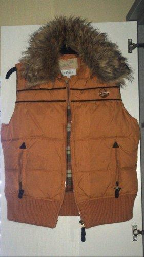 Sfera Fur vest multicolored