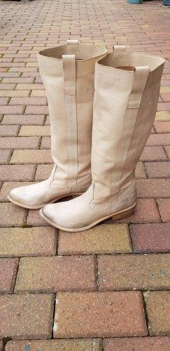 Boots western crème