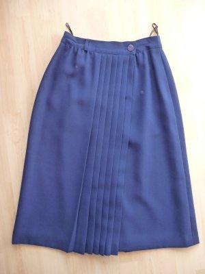 Plisowana spódnica ciemnoniebieski