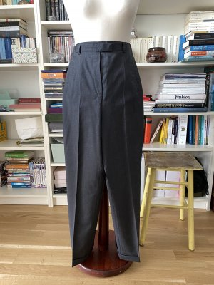 Windsor Pleated Trousers anthracite