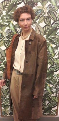 Pelt Coat brown-cognac-coloured