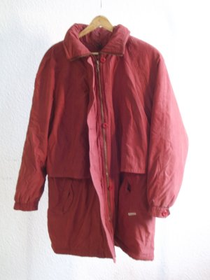 Oversized Coat raspberry-red
