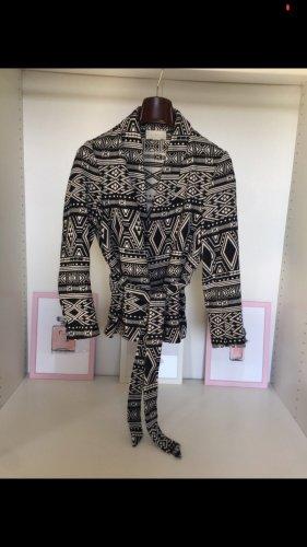 Vintage Woll Blazer mit Bindegürtel