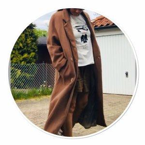 Novelti Floor-Lenght Coat beige cashmere
