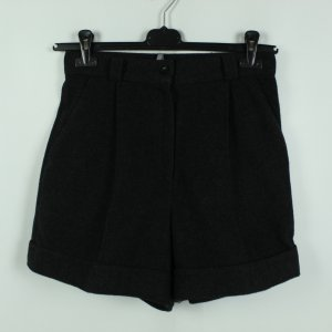 Real Vintage High-Waist-Shorts taupe-black