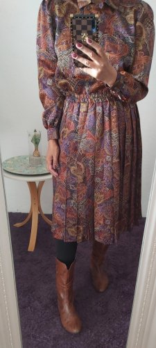 Vintage Tailleur brun-lilas