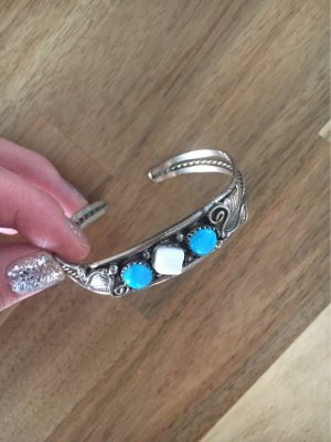 Silver Bracelet multicolored