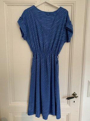 Vintagekleid blau