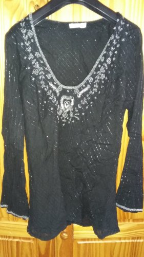 B.young Tunic Blouse black-silver-colored