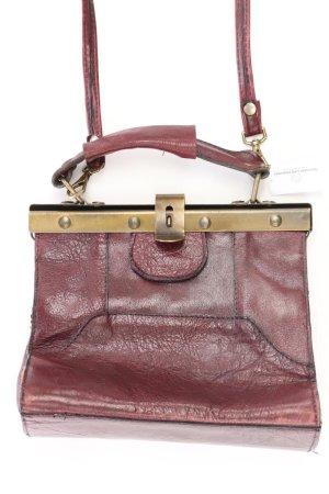 Vintagetasche rot