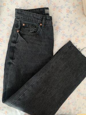 Denim Co. Jeans a vita alta nero