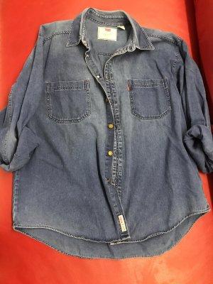 Levi's Camicia denim blu