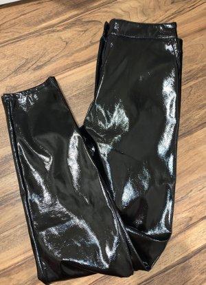 Nakd Pantalon en cuir noir