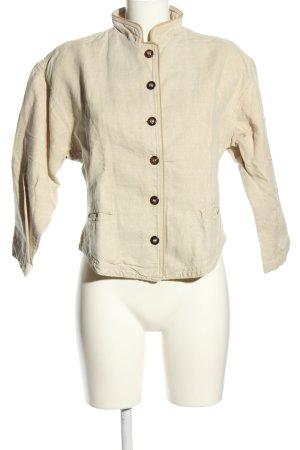 Viola Tradycyjna kurtka w kolorze białej wełny W stylu casual