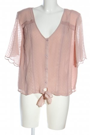 Violeta by Mango Hemd-Bluse pink Elegant