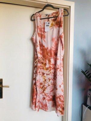 Violeta by Mango Satiniertes Batiklook Kleid