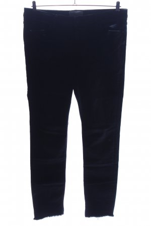 Violeta by Mango Slim jeans zwart zakelijke stijl