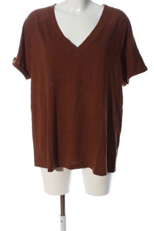 Violeta by Mango V-Ausschnitt-Shirt