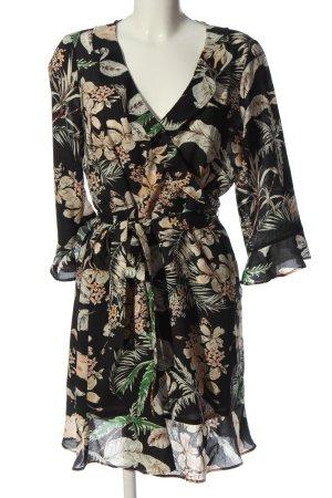 Violeta by Mango Sukienka z falbanami Na całej powierzchni W stylu casual
