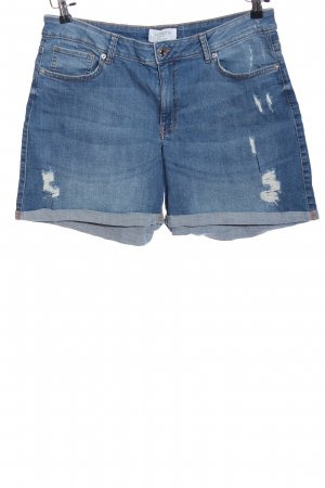 Violeta Pantaloncino di jeans blu stile casual