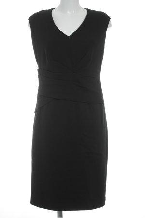 Violeta schulterfreies Kleid schwarz Business-Look