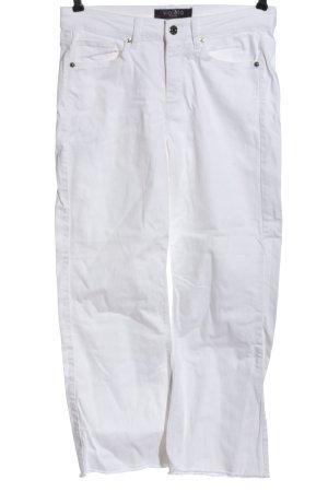 Violeta Straight-Leg Jeans weiß Casual-Look