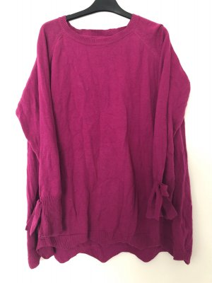Junarose Long Sweater violet