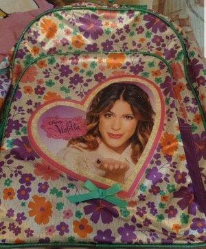 Plecak do przedszkola biały-fiolet