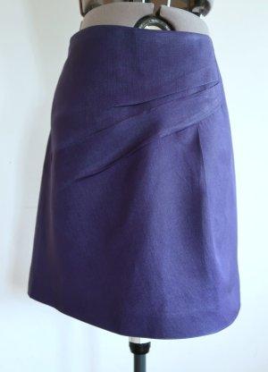 Chloé Spódnica mini niebiesko-fioletowy-niebieski Jedwab