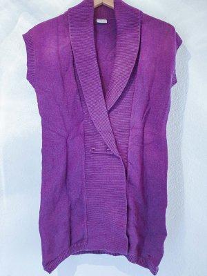 Violette Strickweste