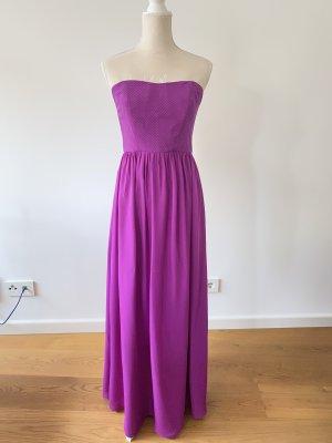 Nicole Miller Bustier Dress lilac