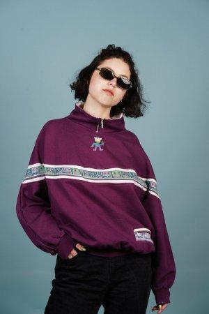 Violettes Retro Sweatshirt XL