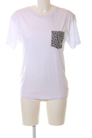 VioVio T-Shirt weiß Casual-Look