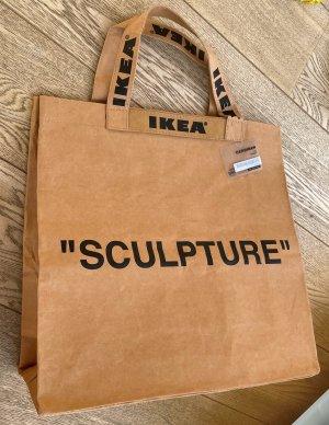 * VIRGIL ABLOH * NEU ! IKEA TASCHE  33 Liter braun PAPIER