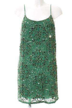Virgos Lounge Sequin Dress green polyester
