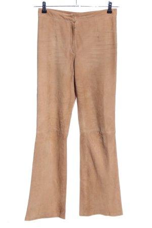 Virmani High-Waist Hose nude schlichter Stil