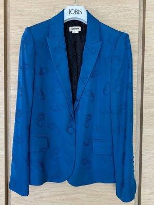 Zadig & Voltaire Klassischer Blazer niebieski