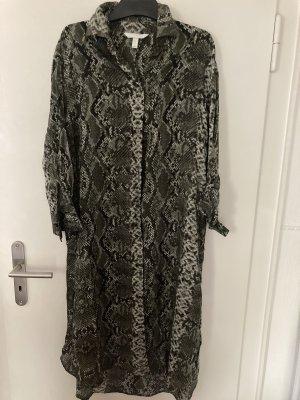 Viscose Kleid mit Schlangen Print