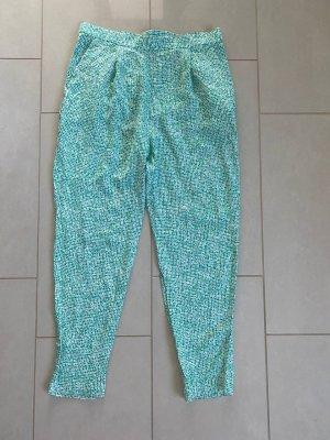 COS Pantalon chinos blanc-vert menthe