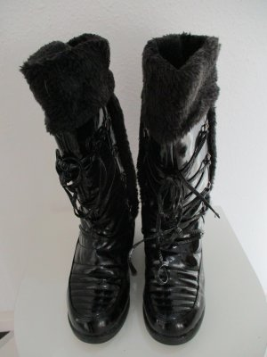 Viseniya Donna Shoes Winterstiefel Lack