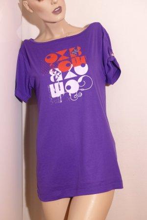 Oxbow Boatneck Shirt multicolored viscose
