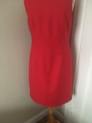 Viskose + Leinen Kleid . Gr40
