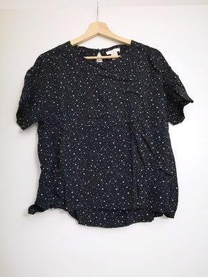 Viskose Shirt mit Sternchen
