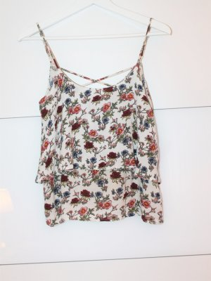 Viskose-Top mit Blumenprint