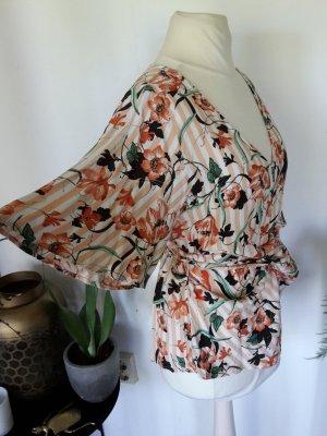 Esprit Kimono blouse veelkleurig Viscose