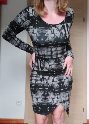 AJC Midi Dress black-grey