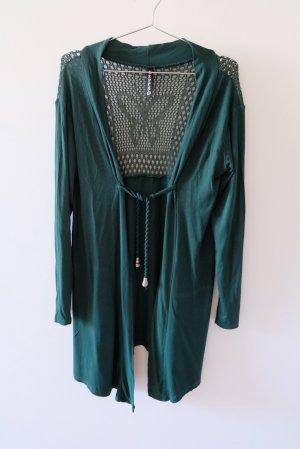 Keppa Cache-cœur en tricot vert viscose