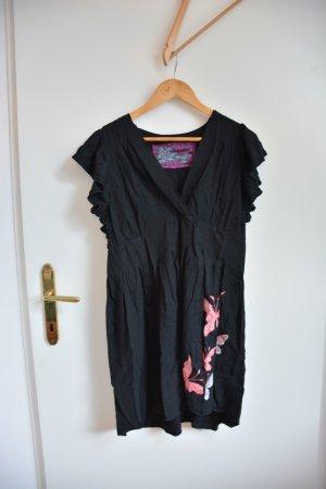 Sugarhill Sukienka typu babydoll czarny Wiskoza