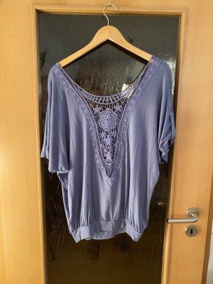 Lascana Crochet Shirt azure