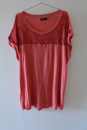 OVS Knitted Jumper brick red viscose
